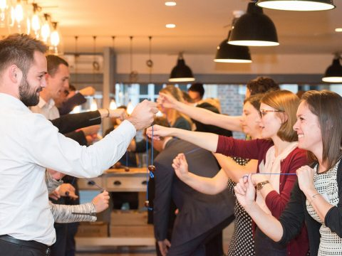 Business teams go bonkers over Conkers at competition in Exeter image 2