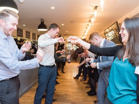 Business teams go bonkers over Conkers at competition in Exeter image 5