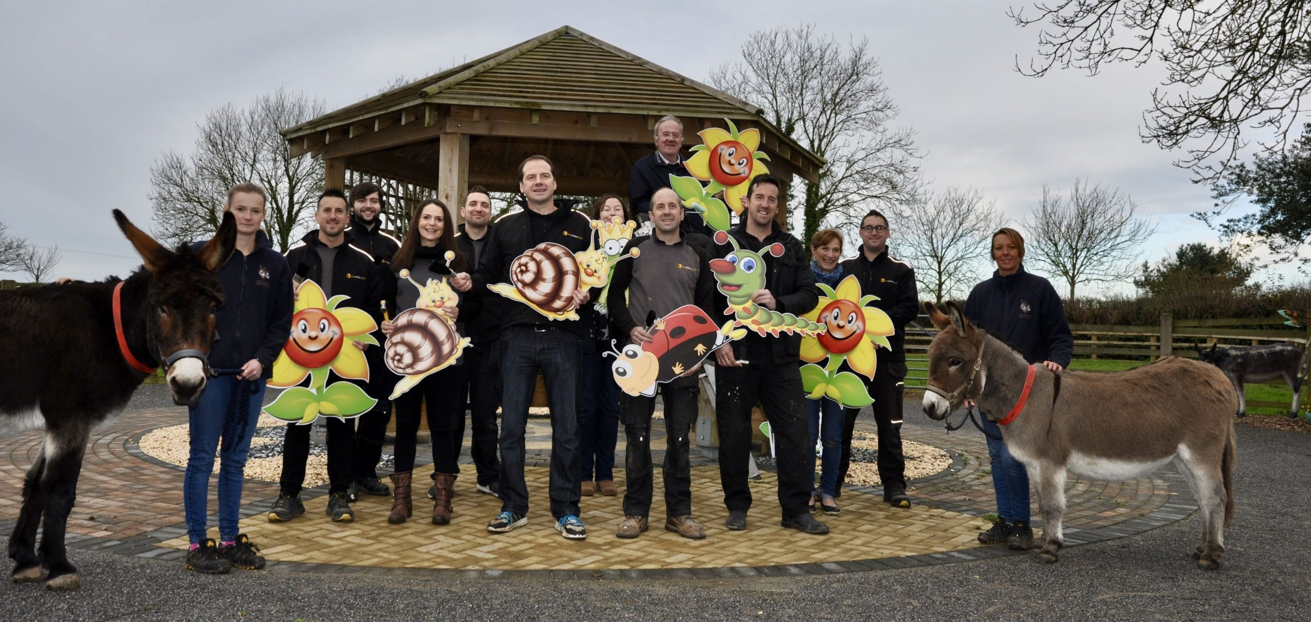 Sign makers donate 50 hours of labour to The Donkey Sanctuary