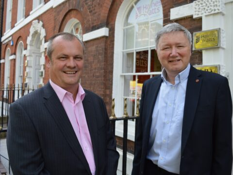 David Park – Partner & Ben de Cruz – Managing Partner – outside Haines Watts Exeter office